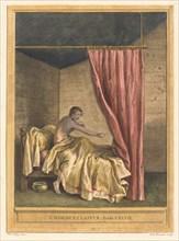 L'homme et la puce (The Man with Fleas), published 1756.