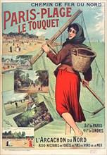 Le Touquet-Paris-Plage, c. 1900-1910. Private Collection.