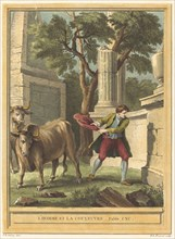 L'homme et la couleuvre (Man and the Snake), published 1759.