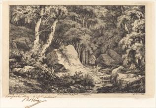 Au ravin de la faille, Auvergne (The Ravine at Auvergne), 1846.