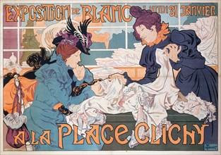 Exposition de Blanc a la Place Clichy, 1898. Private Collection.