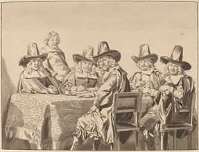 Directors of the Orphan Asylum of Haarlem, 1777, published 1786.