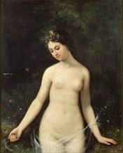Jeune femme nue, 1831. Found in the collection of Maison de Balzac.