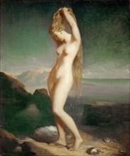 Venus Anadyomene, 1838. Found in the collection of Musée du Louvre, Paris.
