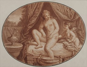Epilation, 18th century. Found in the collection of Musée Carnavalet, Paris.
