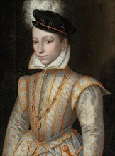 Portrait of King Charles IX of France (1550-1574), c. 1560. Private Collection.