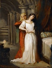 Desdemona Retiring to her Bed, 1849. Found in the collection of Musée du Louvre, Paris.