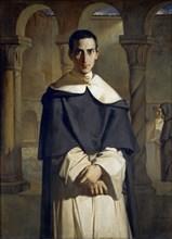 Portrait of Henri Dominique Lacordaire, 1840. Creator: Chassériau, Théodore (1819-1856).