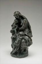 """Virgin and Child with Saint John (Study for """"Notre-Dame du Saint-Cordon""""), 1864/cast after 1890. Creator: Jean-Baptiste Carpeaux."""