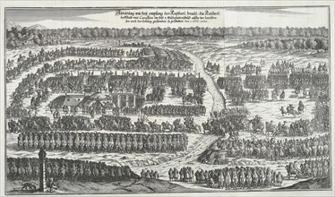 Reception of the Infanta Margaret Theresa of Spain in Vienna on December 6, 1666. Creator: Anonymous.