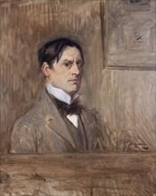 Self-Portrait, 1898. Creator: Forain, Jean-Louis (1852-1931).