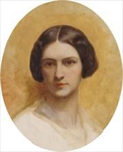 Portrait of Cornélia Marjolin-Scheffer, c. 1850. Creator: Scheffer, Ary (1795-1858).