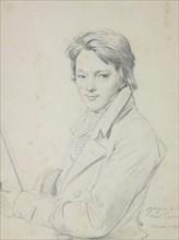 Portrait of the composer Auguste-Mathieu Panseron (1796-1859), 1815-1818. Creator: Ingres, Jean Auguste Dominique (1780-1867).