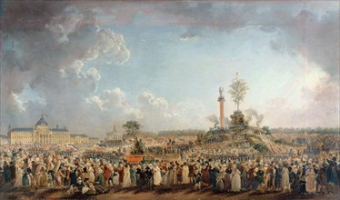 The Festival of the Supreme Being at the Field of Mars, 8 June 1794, 1794. Creator: Demachy, Pierre-Antoine (1723-1807).