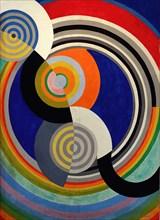 Rythme n°2, décoration pour le salon des Tuileries , 1938. Creator: Delaunay, Robert (1885-1941).