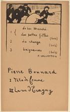The Pursuit, 1893. Creator: Félix Vallotton.