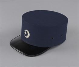 Cap from Fruit of Islam uniform, ca. 1960. Creator: Unknown.