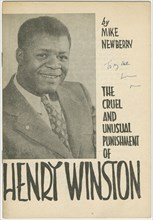 'The Cruel and Unusual Punishment of Henry Winston', 1958-1961. Creator: Unknown.