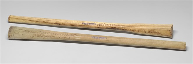 Pickrick Drumstick signed by Lester Maddox, ca. 1964. Creator: Unknown.