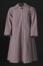 Lavender tweed swing coat designed by Arthur McGee, mid 20th-late 20th century. Creator: Arthur McGee.