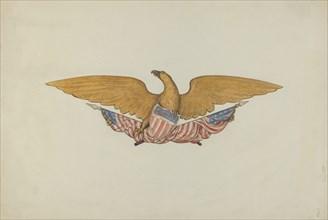 Eagle Stern Piece, c. 1938. Creator: Betty Fuerst.