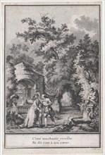 Choice of Songs put into Music by M. de la Borde, ca.1773. Creator: François Denis Née.