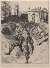 Grand'Garde (Souvenir of the Siege of Paris), 1878. Creator: James Tissot.