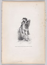 I left as the Attorney-General of Moinraux in Paris from Scenes from the Private an..., ca. 1837-47. Creator: Joseph Hippolyte Jules Caque.