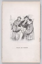 Jean of Paris from The Complete Works of Béranger, 1836. Creator: Jean Ignace Isidore Gerard.