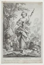 La Bergère Laborieuse, 18th century. Creator: Jean Michel Liotard.