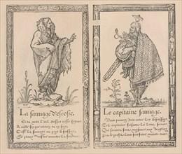 Recueil de la diversité des habits, 1562. Creator: François Desprez.
