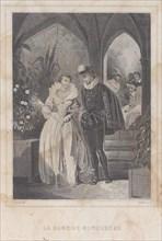The Lady of Monsoreau (La Dame de Monsoreau), 1830-65. Creator: François-Adolphe-Bruneau Audibran.