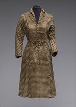 Dress and belt worn by Marla Gibbs as Florence Johnston on The Jeffersons, 1977-1980. Creator: Unknown.