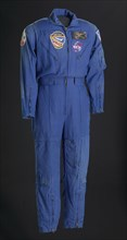 Flight suit worn by Charles F. Bolden during his first spaceflight, 1986. Creator: Gibson & Barnes.