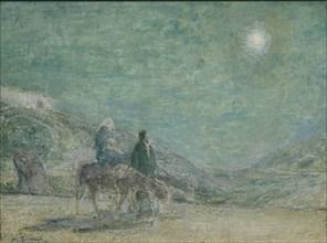 Flight into Egypt, ca. 1916. Creator: Henry Ossawa Tanner.