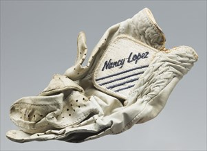 Golf glove belonging to Ethel Funches, late 20th century. Creator: Nancy Lopez Golf Inc..