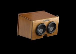Stereoscope, 1905-1920. Creator: A. Mattey.