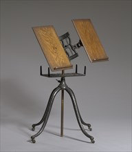 Cast iron dictionary stand used by Rev. Florence Spearing Randolph, ca. 1915. Creator: Unknown.