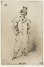 Portrait of Whistler, 1881. Creator: Carlo Pellegrini.