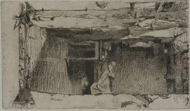 Rag Pickers, Quartier Mouffetard, Paris, 1858. Creator: James Abbott McNeill Whistler.