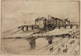 Isle de la Cité, Paris, 1859. Creator: James Abbott McNeill Whistler.