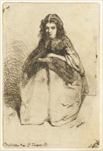 Fumette, 1858. Creator: James Abbott McNeill Whistler.