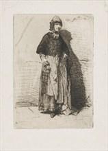 La Mère Gérard, 1858. Creator: James Abbott McNeill Whistler.