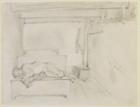 A la Ferme de Maladrie, 1858. Creator: James Abbott McNeill Whistler.