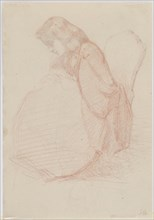 A two-sided drawing of Fumette and Dancing Clowns, 1855-1859. Creator: James Abbott McNeill Whistler.