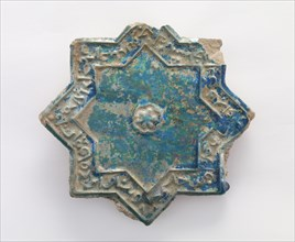 Wall tile, 12th-13th century. Creator: Unknown.