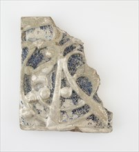 Wall tile (fragment), 12th-13th century. Creator: Unknown.