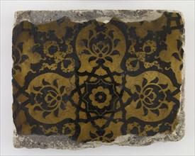 Tile, 18th century. Creator: Unknown.