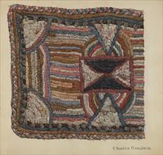 Shaker Shirred Rug, 1935/1942. Creator: Charles Goodwin.