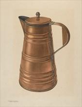 Coffee Pot, 1935/1942. Creator: Nicholas Acampora.